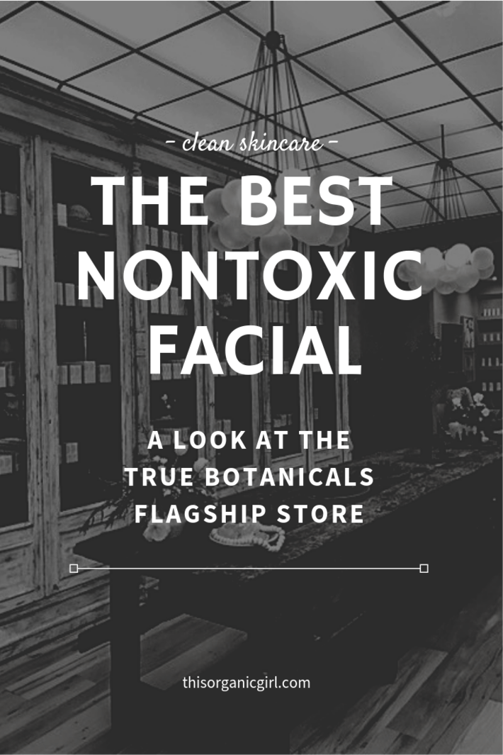 the best nontoxic facial