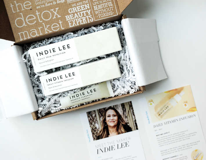 Detox Box April featuring Indie Lee