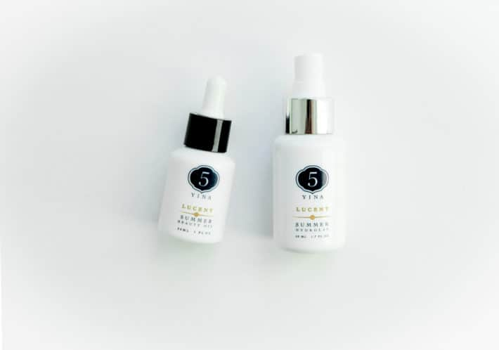 two 5 Yina products from the Lucent collection