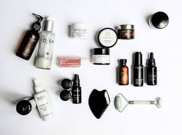 a menagerie of natural skincare - organic anti-aging skincare routine
