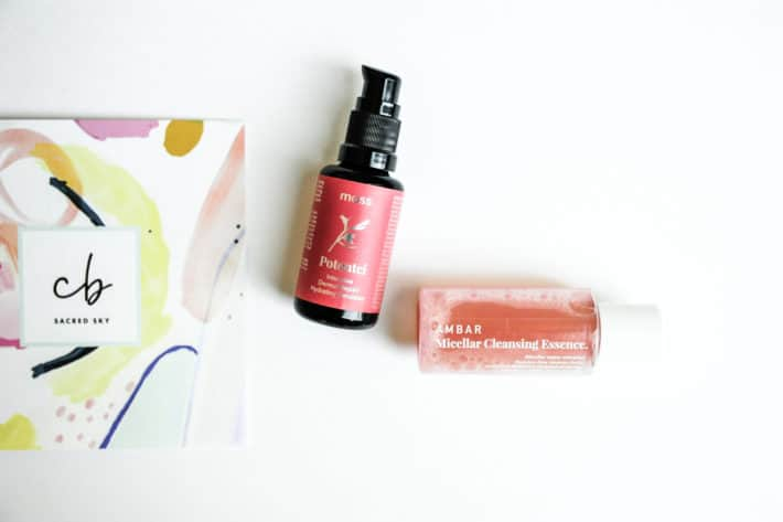 moss + AMBAR Clean Beauty Box