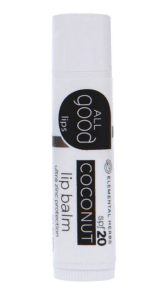 stock photo of All Good Coconut Lip Balm SPF 20