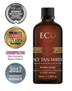 Stock photo of Eco Tan Face Tan Water