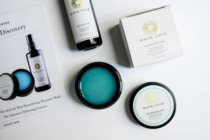The August Beauty Heroes featuring Maya Chia The Refresh Mint