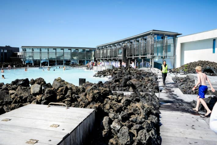 inside of the blue lagoon iceland