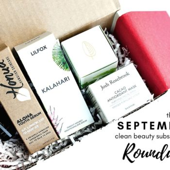 september clean beauty subscription roundup