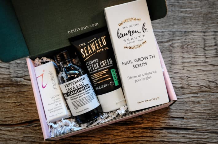 Petit Vour cruelty free September beauty box revealed