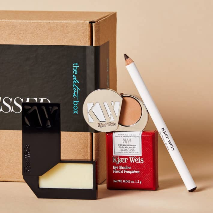 The October Detox Box featuring 3 Kjaer Weis items