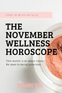 the november wellness horoscope