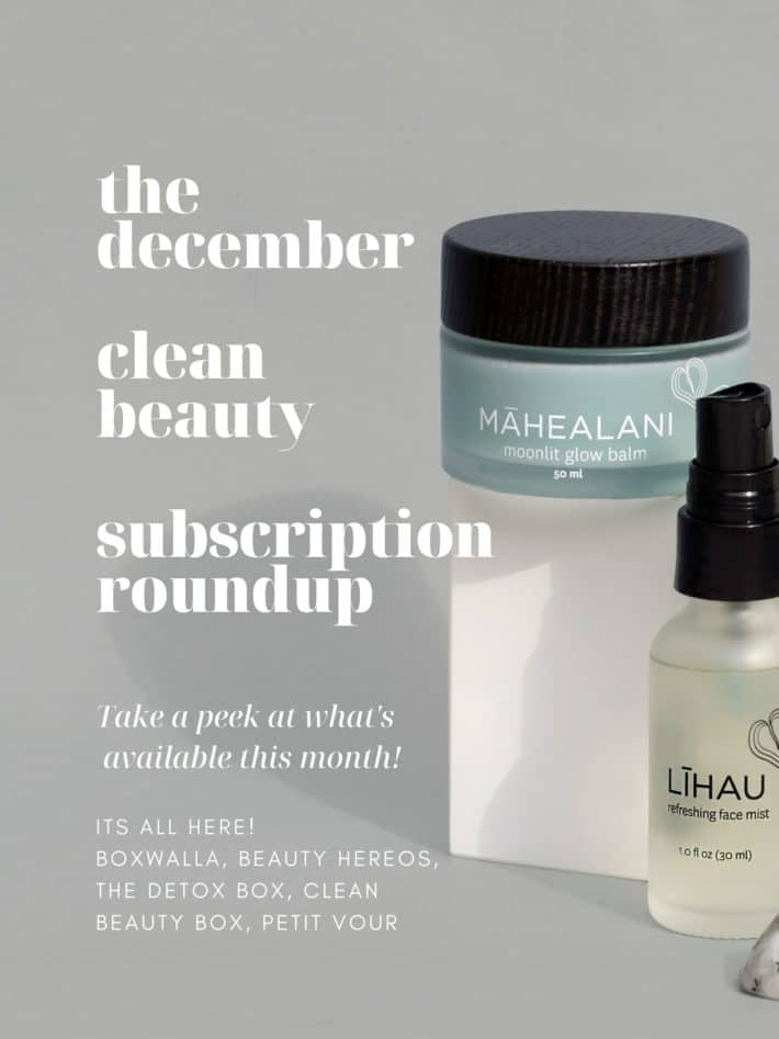 the december subscription roundup