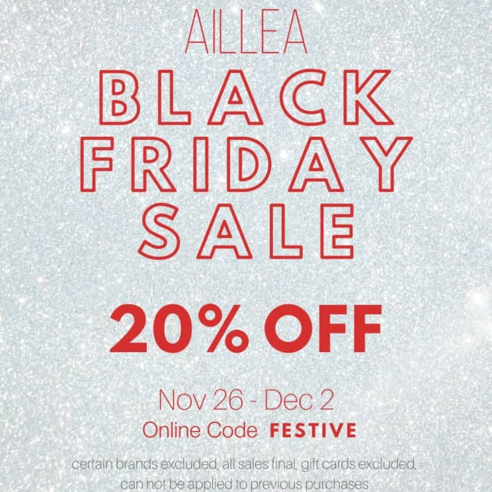 20% off at Aillea Beauty