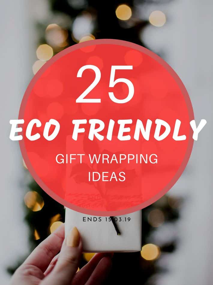 25 eco friendly gift wrapping ideas