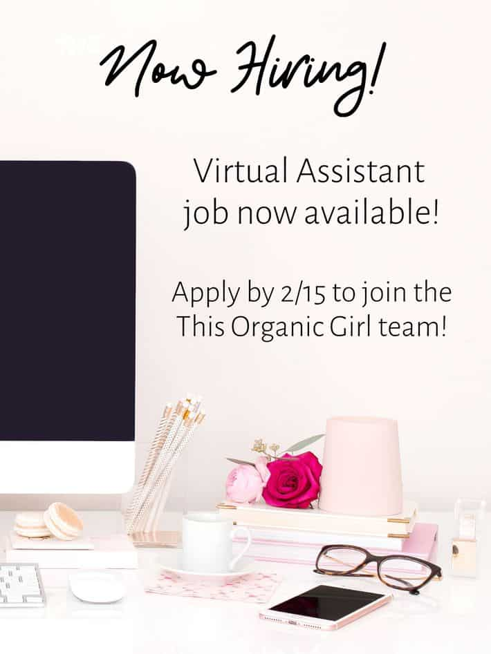 this organic girl hiring