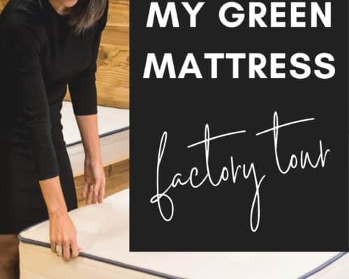 feeling a my green mattress