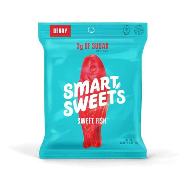 packet of berry flavored Smart Sweets