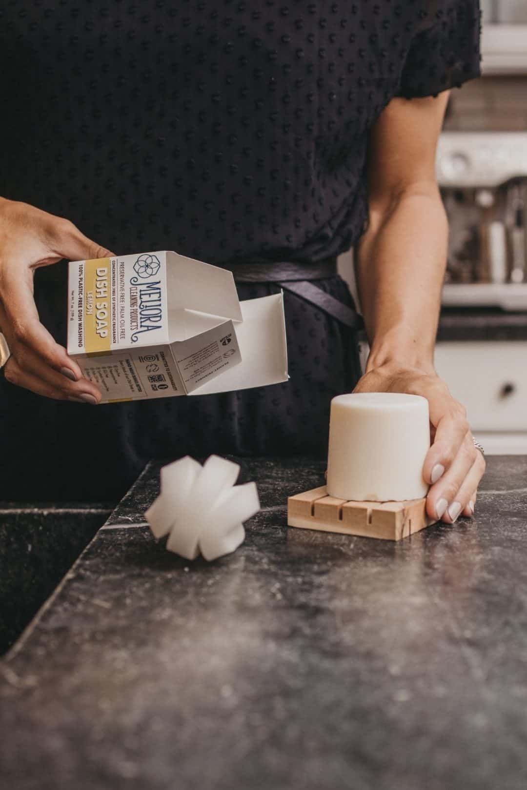 The MightyFix Delivers Plastic-Free Dishwashing Soap