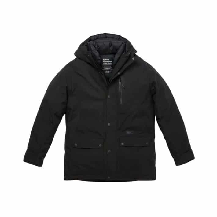 Askov Finlayson Men's Winter Parka in black