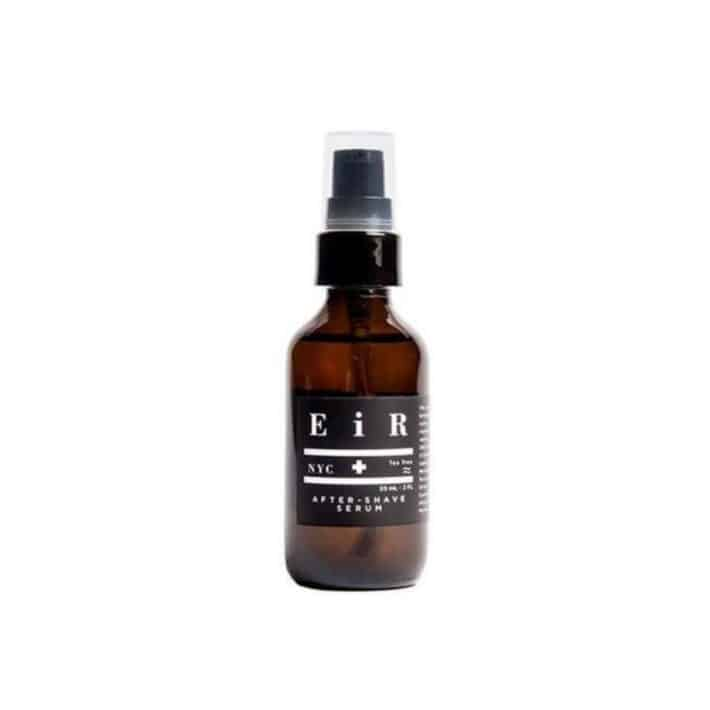 bottle of EIR after shave
