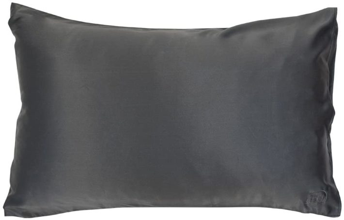 black silk pillowcase by The Goodnight Co.