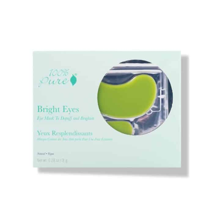 pack of under eye mask from 100% pure