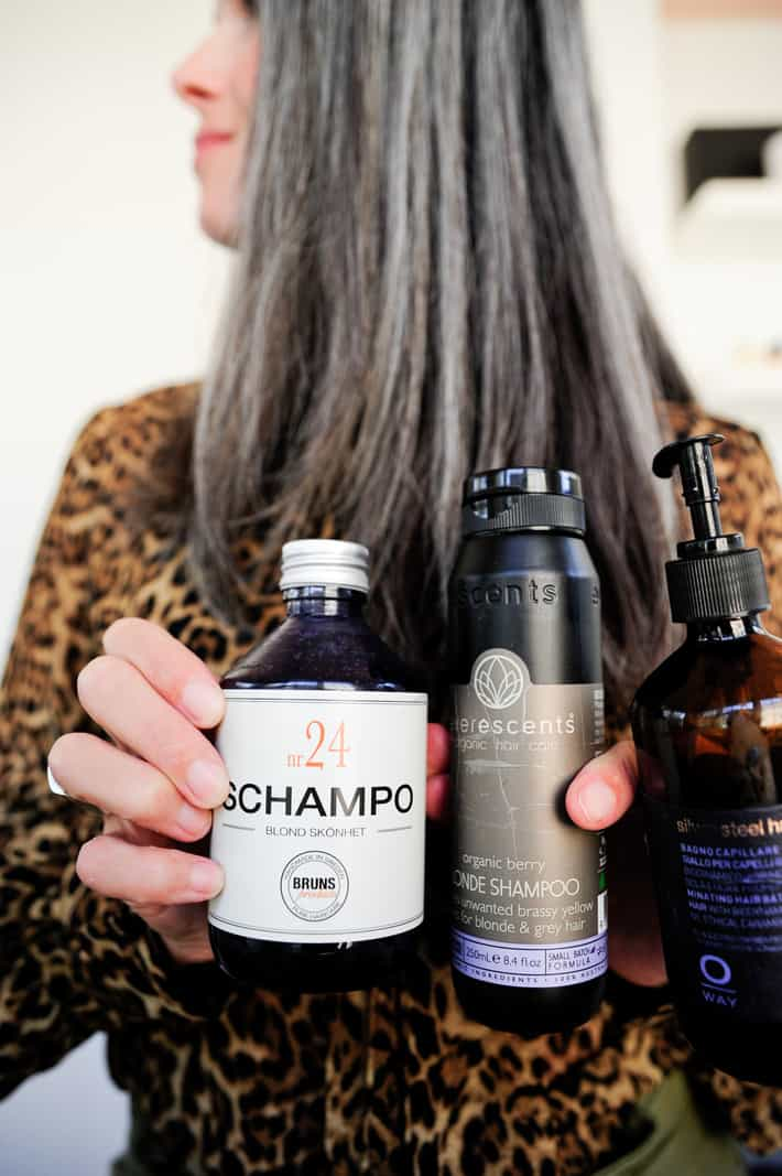 The Best All Natural Purple Shampoos For Gray Hair This Organic Girl