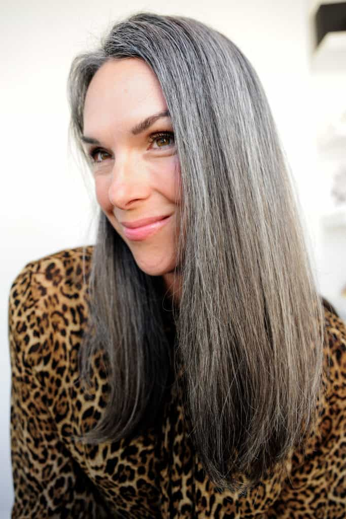 how to prevent brassy tones in your gray hair
