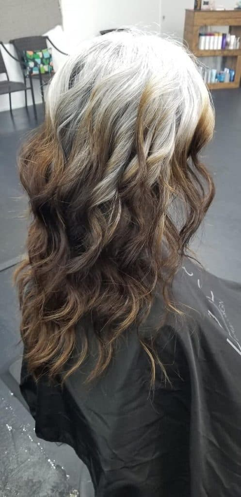 Going gray cold turkey woman hairstyle