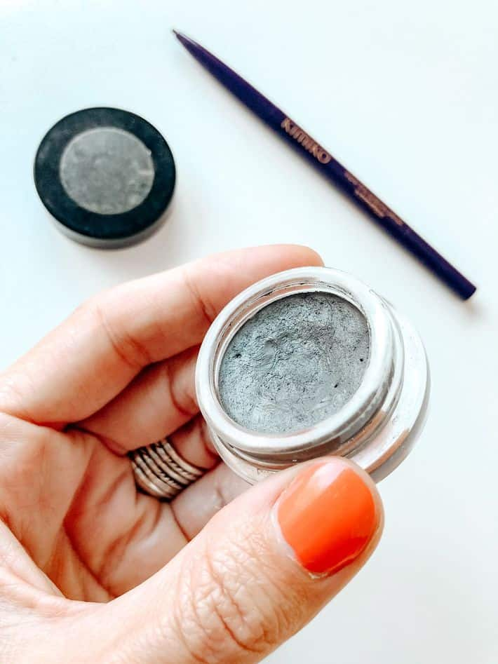 eyebrow makeup Sappho New Paradigm's Brow Pomade in Taupe Gray