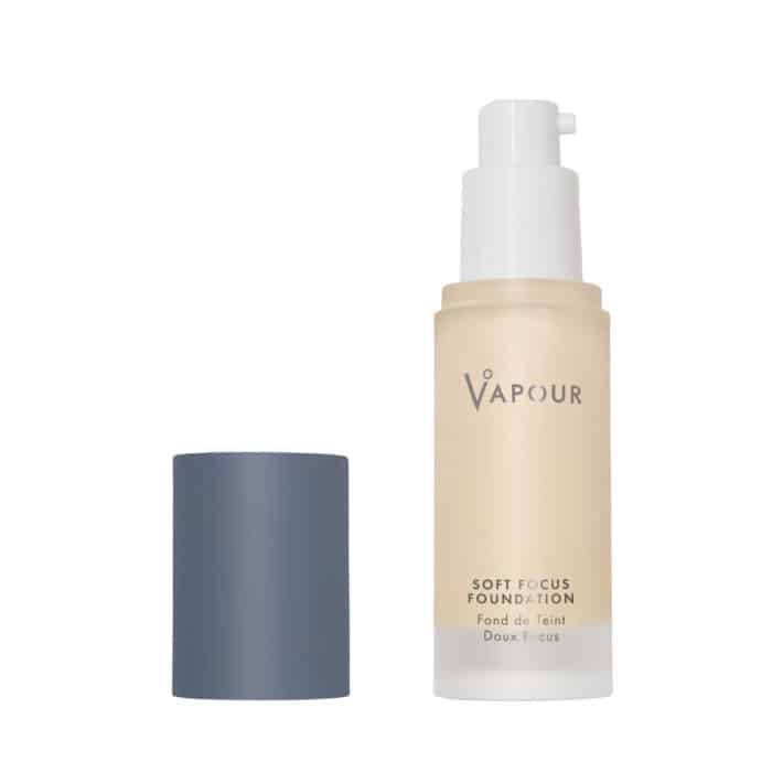 Bottle of nontoxic foundation from Vapour