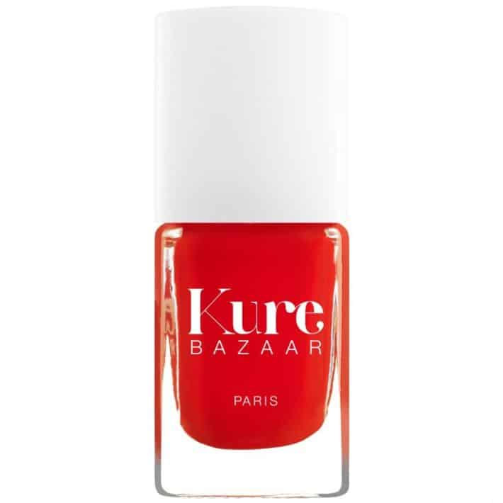 Bottle of red nail polish from Kure Bazaar