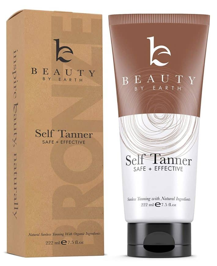 sunless tanner box and tube
