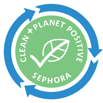 Clean and Planet Positive Clean at Sephora seal