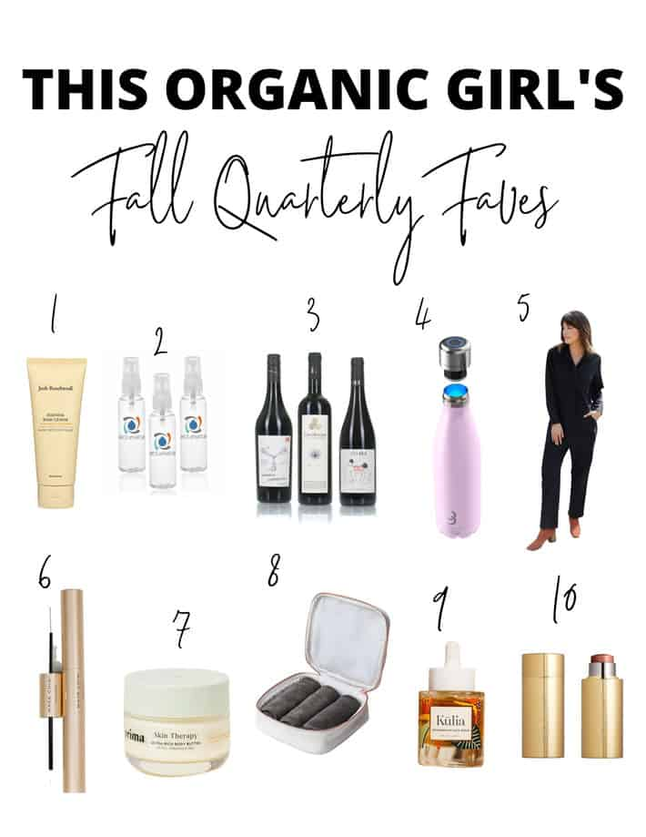 This organic girl's fall quarterly faves roundup